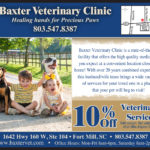 Our Featured Health Business this edition is Baxter Veterinary Clinic
