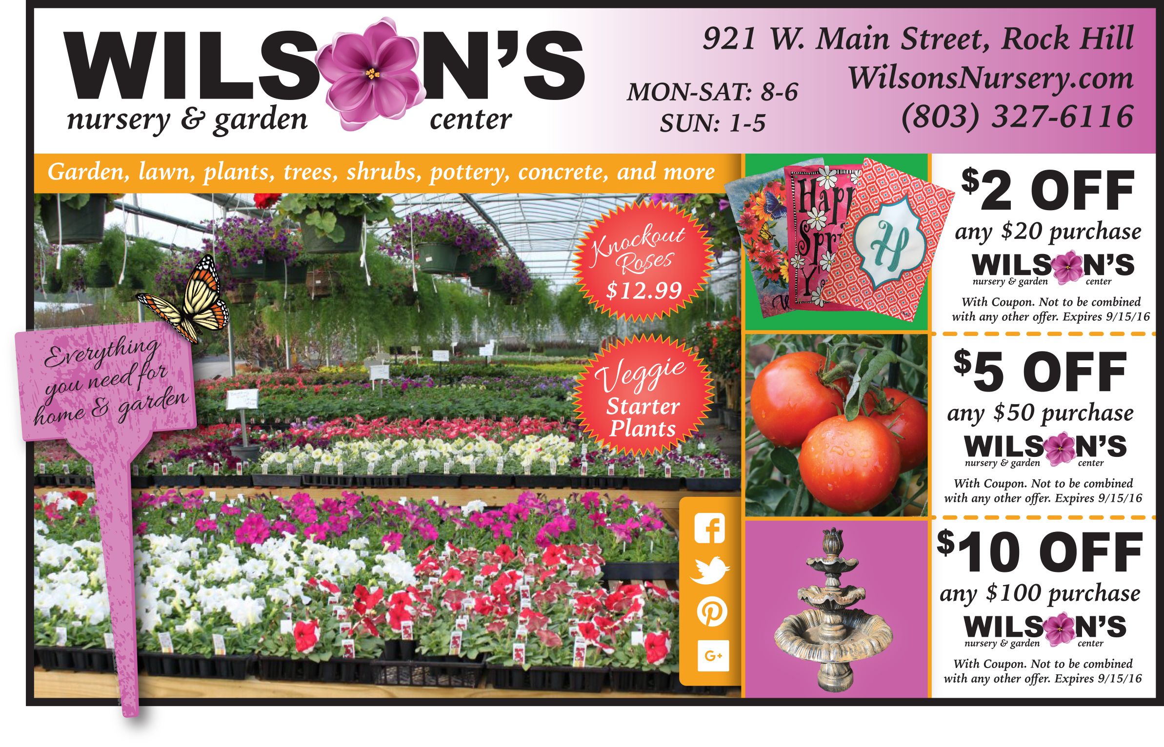 click image to make it larger wilsons for your garden - Wilsons Garden Center