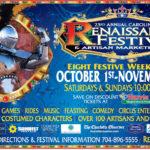 23rd Annual Carolina Renaissance Festival & Artisan Marketplace