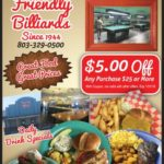 Our Featured Rock Hill Business this Edition is Friendly Billiards