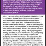 Community Spotlight – Big Brothers / Big Sisters York County